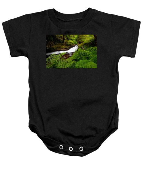 Sweet Creek Ferns Baby Onesie