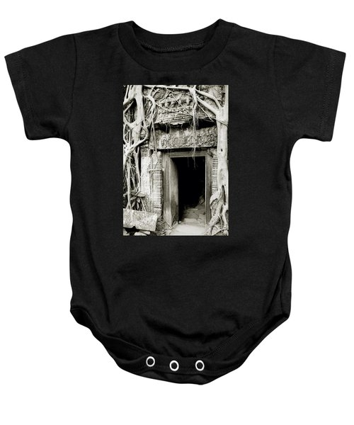 Ta Prohm Doorway Baby Onesie