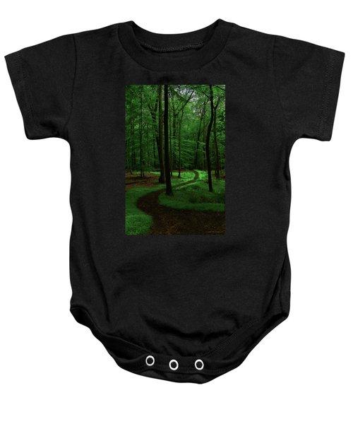 Take A Hike Baby Onesie