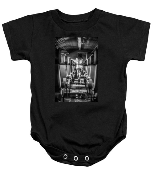Take A Little Trip Baby Onesie