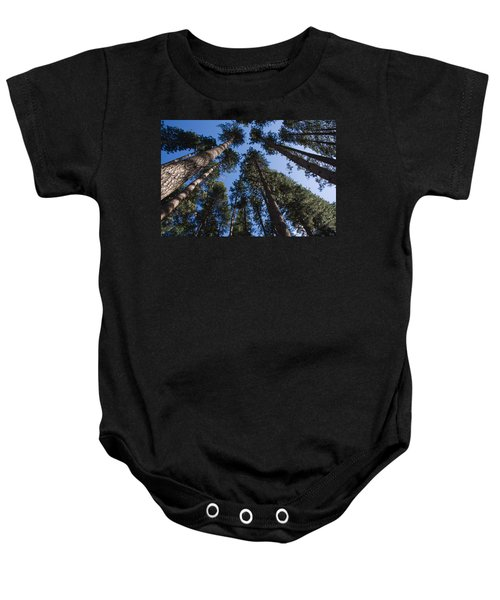 Talls Trees Yosemite National Park Baby Onesie