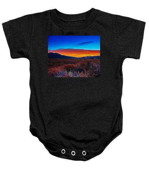 Taos Sunrise X Baby Onesie