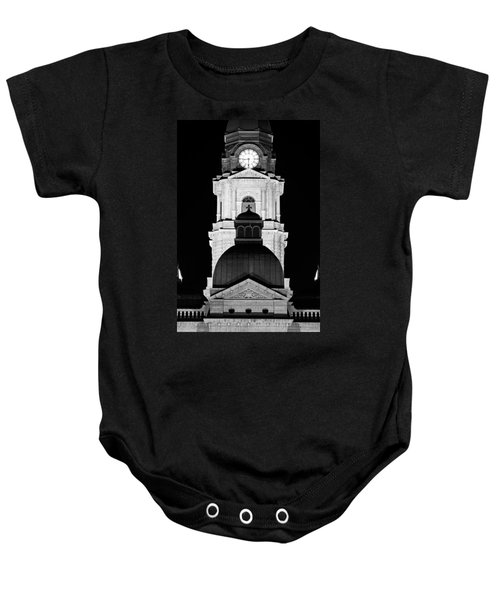 Tarrant County Courthouse Bw V1 020815 Baby Onesie