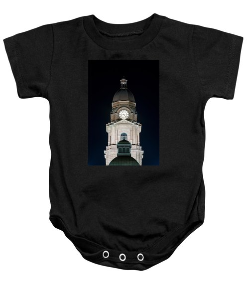 Tarrant County Courthouse V2 020815 Baby Onesie