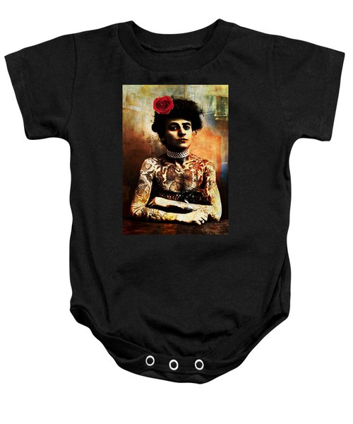 Tattoo Lady Baby Onesie