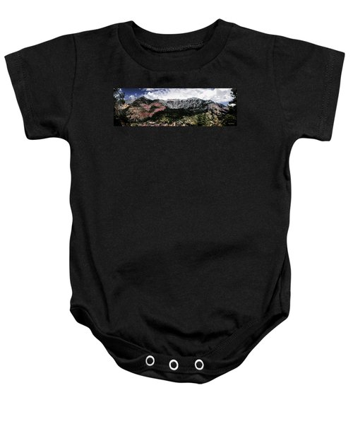 Telluride From The Air Baby Onesie