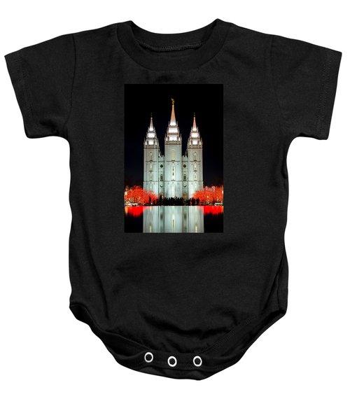 Temple Lights Baby Onesie
