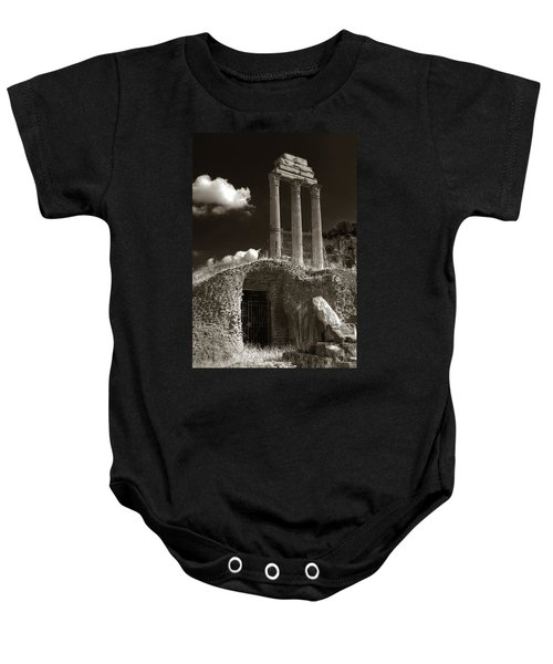 Temple Of Castor And Polux Baby Onesie