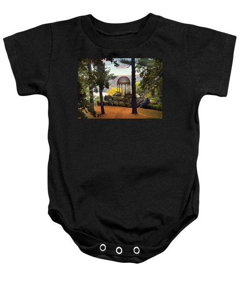 Temple Of Love In Autumn Baby Onesie