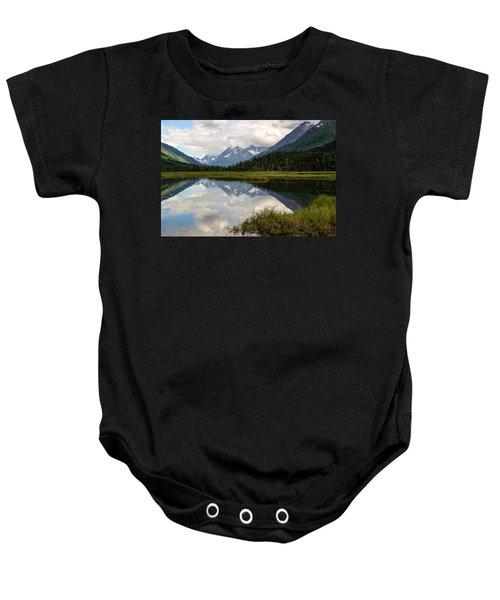 Tern Lake Alaska Baby Onesie