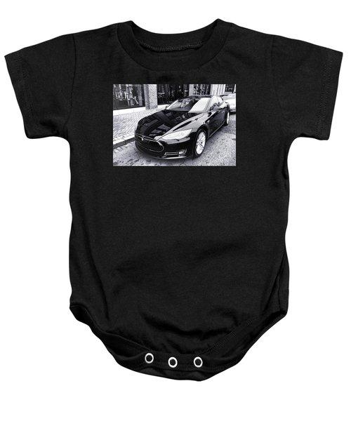 Tesla Model S Baby Onesie