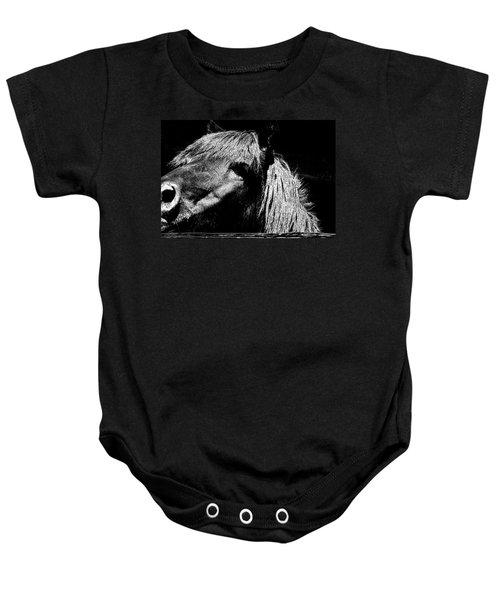 Teton Horse Baby Onesie