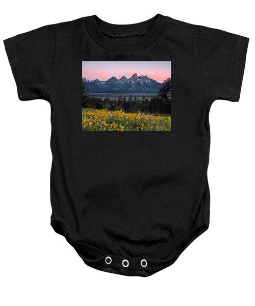 Teton Spring Baby Onesie by Leland D Howard