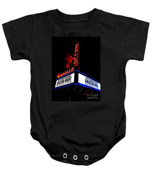 The Apollo Theater Baby Onesie by Ed Weidman