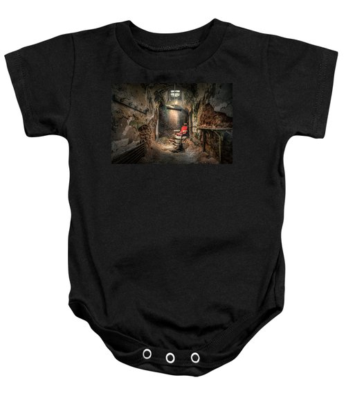 The Barber's Chair -the Demon Barber Baby Onesie
