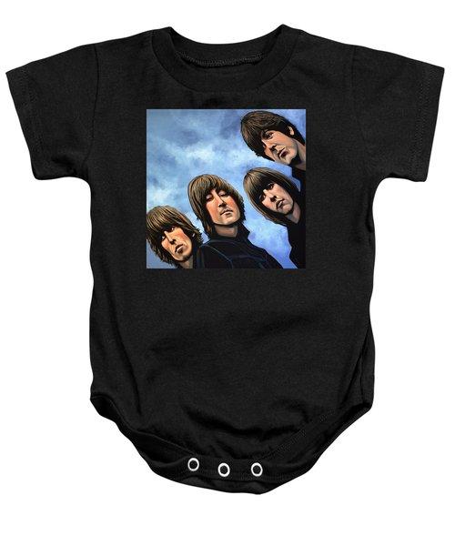 The Beatles Rubber Soul Baby Onesie