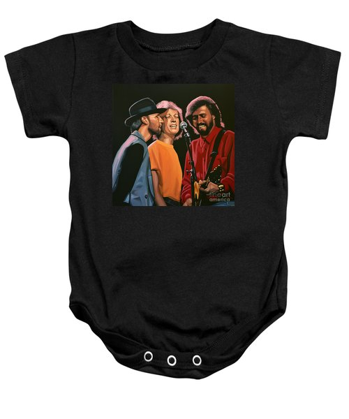 The Bee Gees Baby Onesie by Paul Meijering