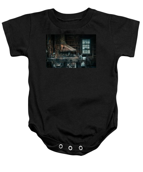 The Blacksmith's Forge - Industrial Baby Onesie