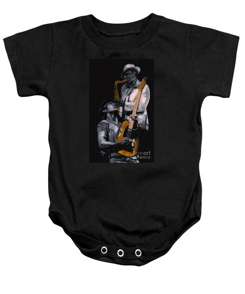 Bruce And Clarence Baby Onesie