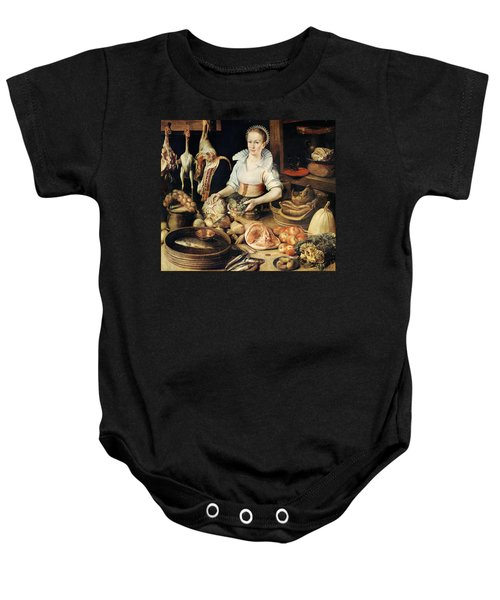 The Cook Baby Onesie by Pieter Cornelisz van Rijck