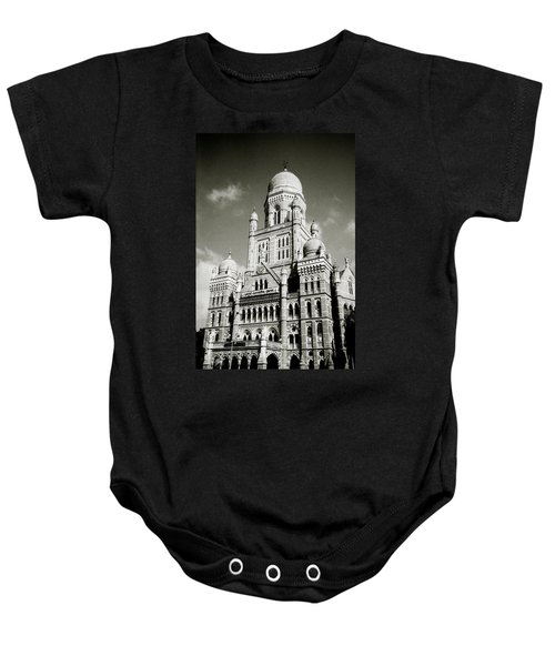 The Corporation Building Bombay Baby Onesie