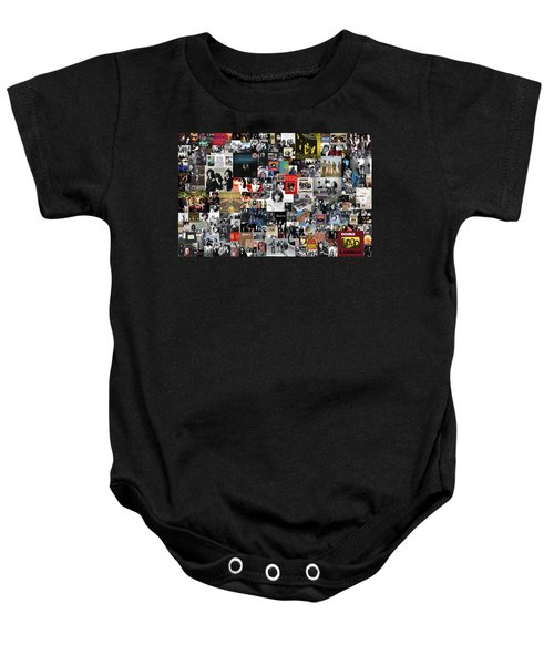 The Doors Collage Baby Onesie