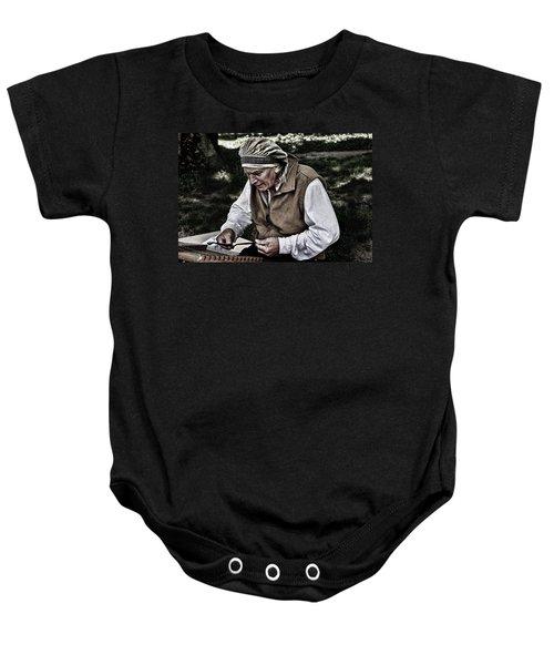 The Dulcimer Man Baby Onesie