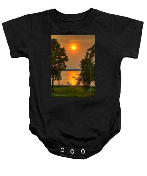 The End Of A Perfect Day Baby Onesie