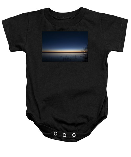 The First Light Of Dawn Baby Onesie
