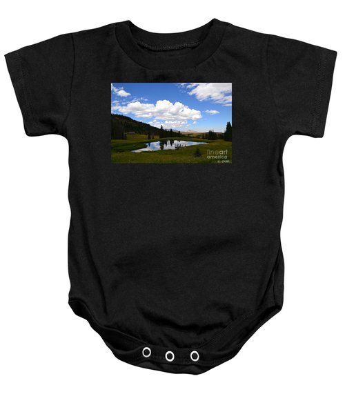 The Fishing Hole Baby Onesie