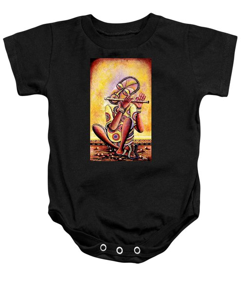 The Flutist Baby Onesie