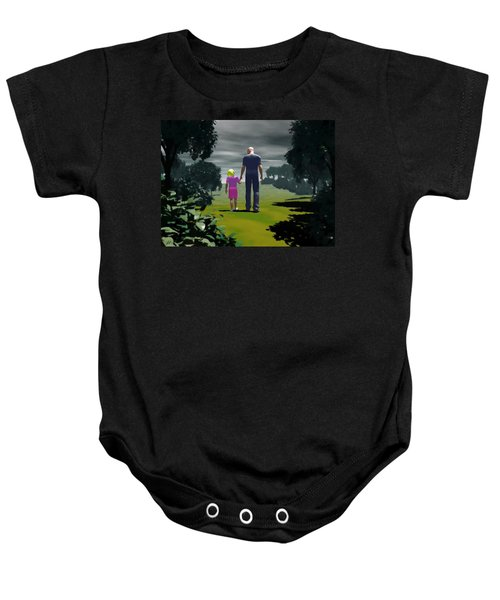 The Gift Of Being 'daddy' Baby Onesie