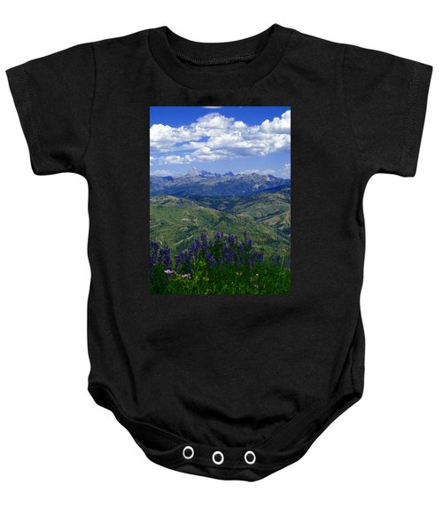The Grand And Lupines Baby Onesie