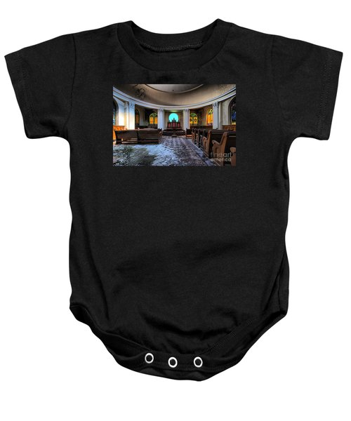 The Grand Geometrician Of The Universe Baby Onesie