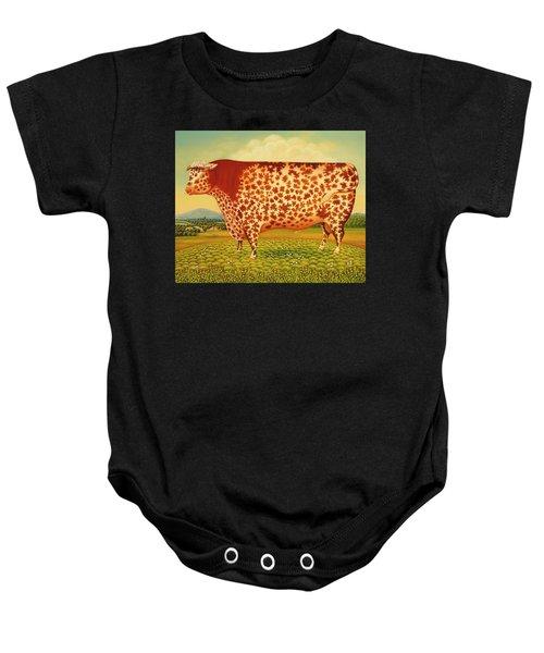 The Great Bull Baby Onesie