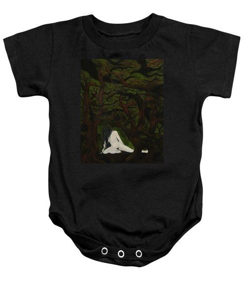 The Hunter Is Gone Baby Onesie