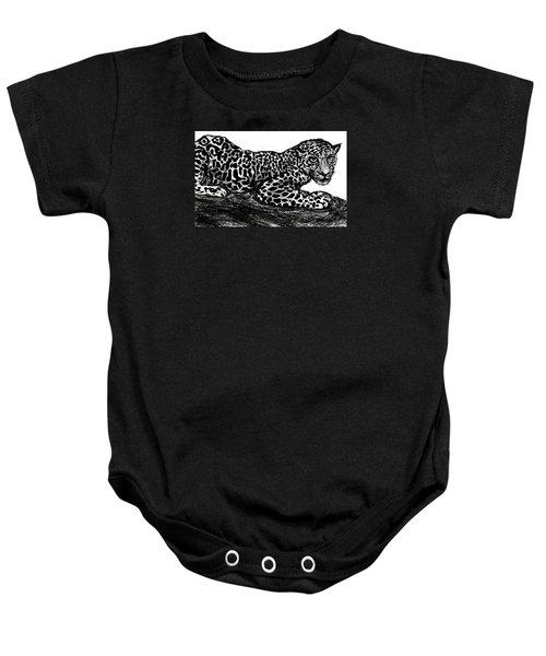 The Jaguar  Baby Onesie