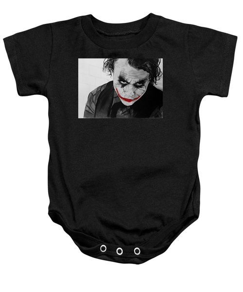 The Joker Baby Onesie by Robert Bateman