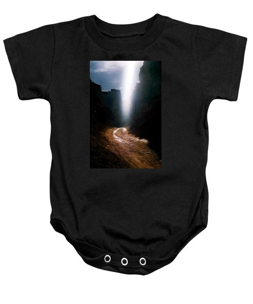 The Land Of Light Baby Onesie