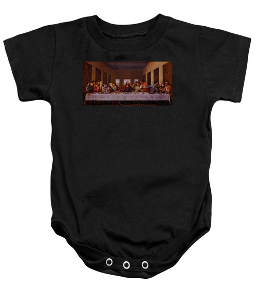 The Last Supper Baby Onesie