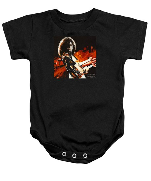 Stairway To Heaven. Jimmy Page  Baby Onesie