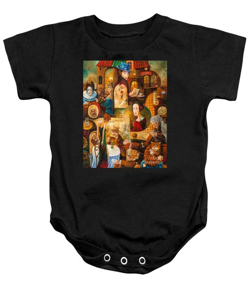 The Letter Baby Onesie