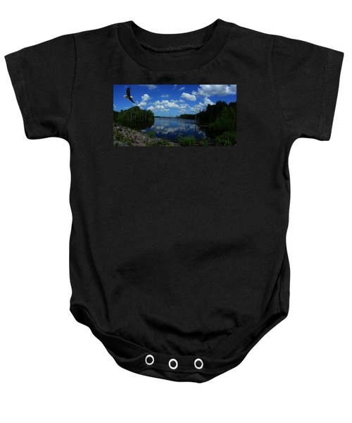 The Lord And His Manor Baby Onesie