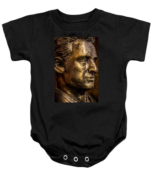The Man In Black Baby Onesie