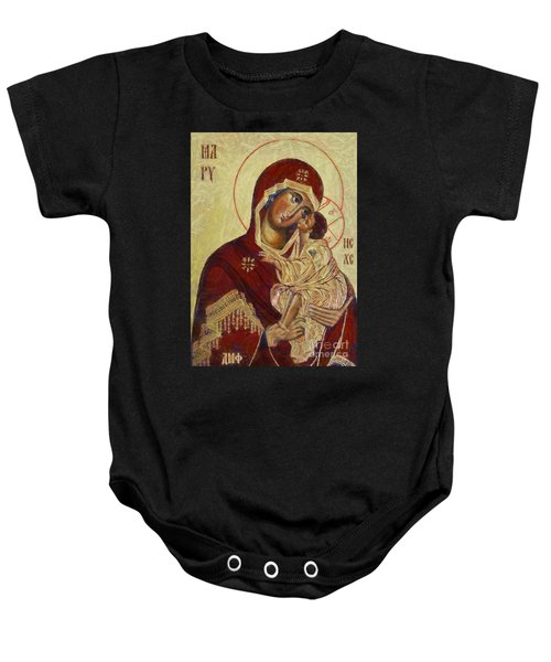 The Mother Of God -the Don Icon Baby Onesie