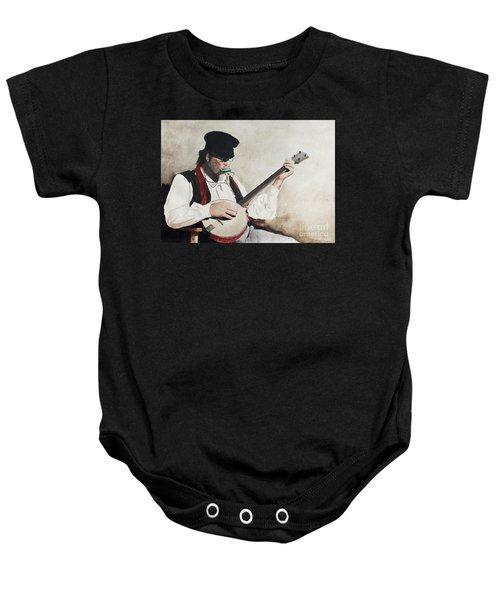 The Music Man Baby Onesie