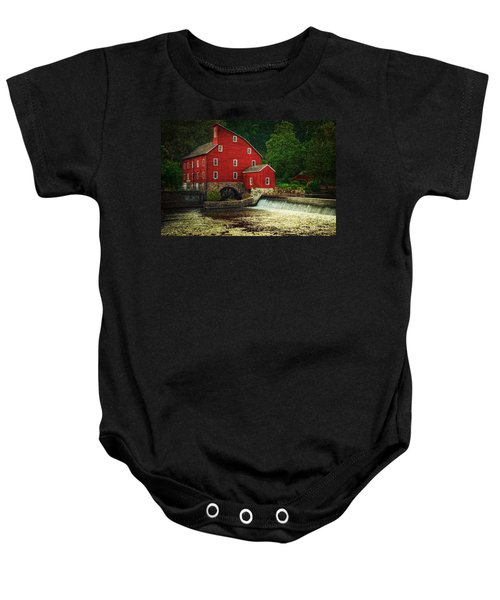 The Old Red Mill Baby Onesie