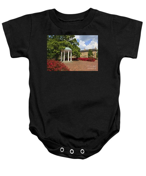 The Old Well At Chapel Hill Campus Baby Onesie