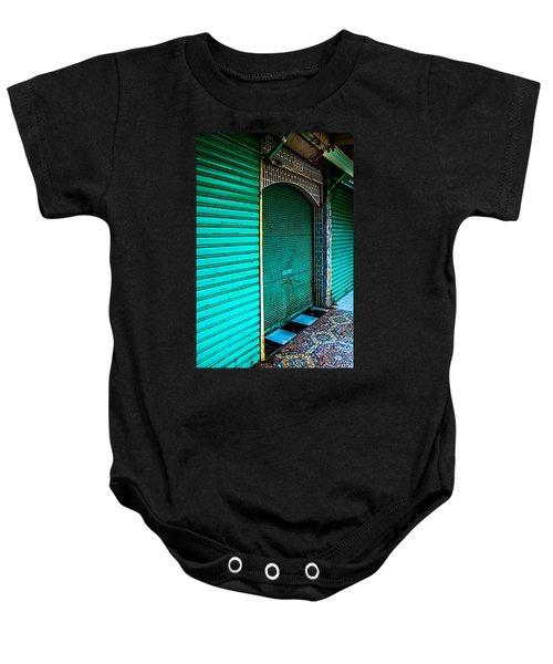 Marrakech Aqua Baby Onesie