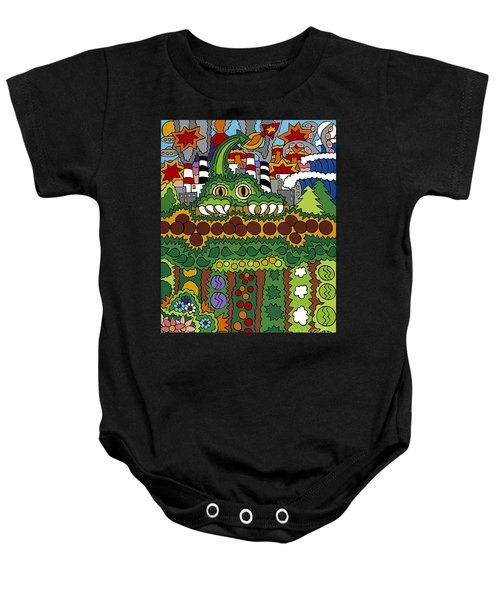 The Other Side Of The Garden  Baby Onesie